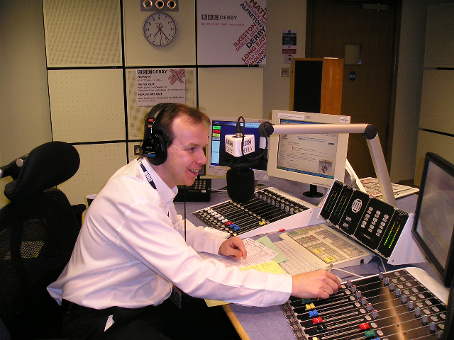 Graham on BBC Radio Derby November 2009